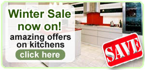 fitted kitchen january sale offer