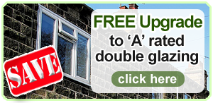 free upgrade to a rated double glazing - click here