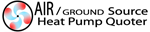 air and ground source heat pump quotes from heat pump quoter